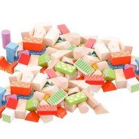 100 Ξύλινα Τουβλάκια «Σχήματα» Ecotoys 2007