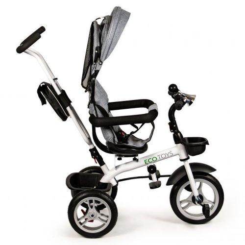 Ποδήλατο τρίκυκλο με περιστρεφόμενο κάθισμα 360' Ecotoys JM-322