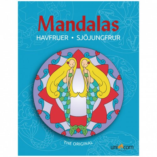 Mandalas με Γοργόνες UNICORN 2484604