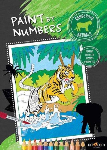 Ζωγραφική με αριθμούς Άγρια Ζώα UNICORN 6000277