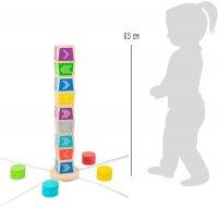 Παιχνίδι ρίψης Vertical Kubb Small Foot 12037