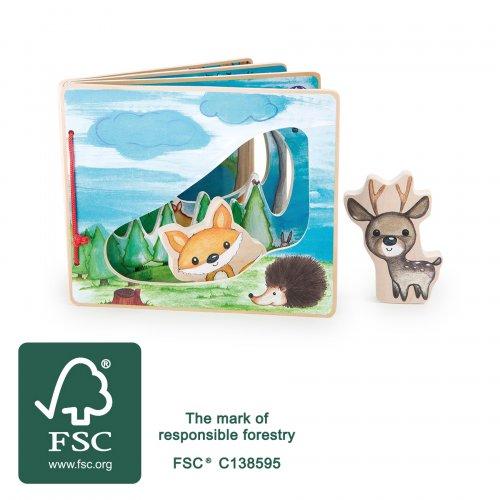 Διαδραστικό Βιβλίο ο Κόσμος του Δάσους Small Foot 11234