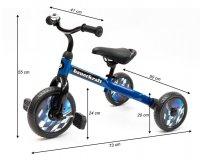 Τρίκυκλο Ποδήλατο 3 σε 1 Ecotoys X-173 BLUE