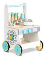 Περπατούρα και Παιδική Κουζίνα 2 σε 1 Ecotoys 88041
