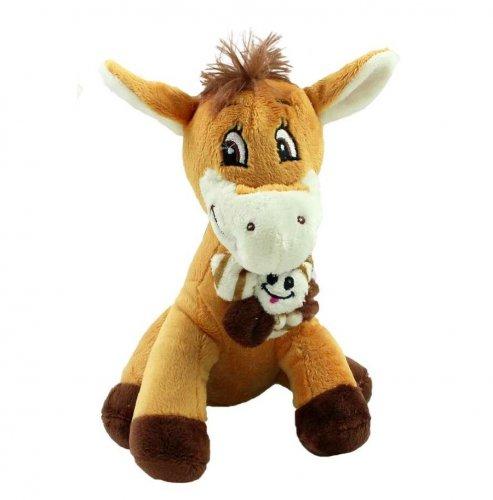 Βελούδινο αλογάκι Gem Party Toys LW190B