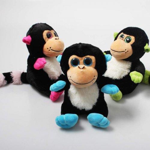 Βελούδινο Μαϊμουδάκι Party Toys LW116