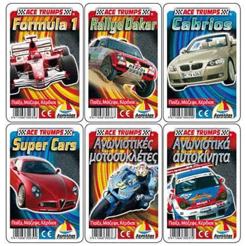 Trumps Κάρτες Οχήματα - Κωδ.K915