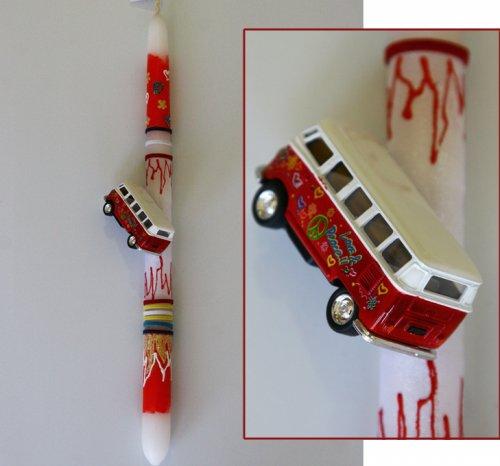Λαμπάδα Volkswagen Classical Bus (1962) 800042