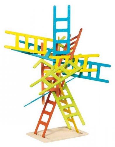Ξύλινες σκάλες ισορροπίας Goki  56877