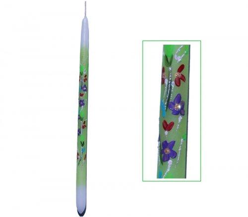 Λαμπάδα Με Λουλούδια 745013