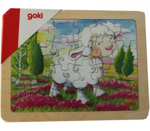 Παζλ Προβατάκι 24 τεμάχια Goki 57807A