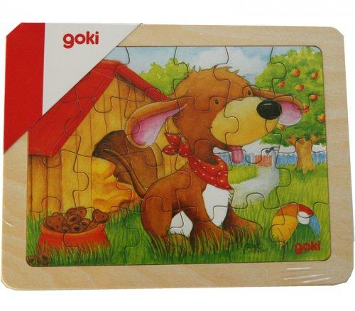 Παζλ Σκυλάκι 24 τεμάχια Goki 57807B