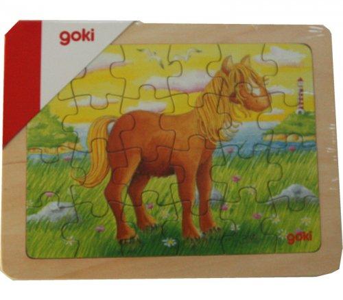 Παζλ Αλογάκι 24 τεμάχια Goki 57807D