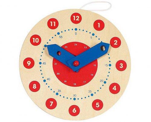 Ρολόι Μαθαίνω να λέω την ώρα Goki 58980