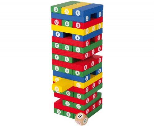 Πύργος Ισορροπίας με ζάρια Small foot 5260