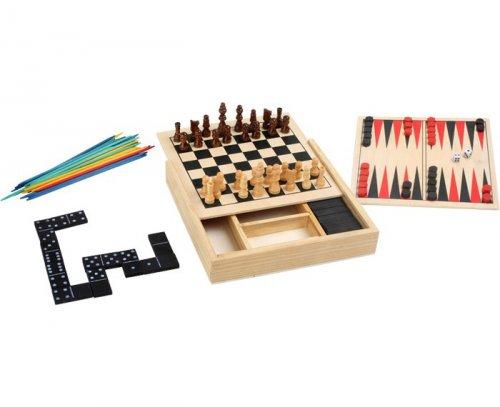 Κλασσικά παιχνίδια Ταξιδιού 5 σε 1 Small Foot 3491