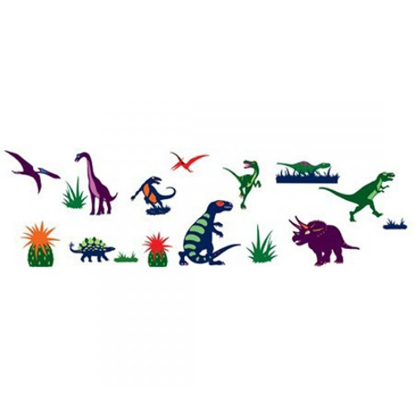 Djeco αυτοκόλλητα τοίχου 'δεινόσαυροι' Κωδ.04534