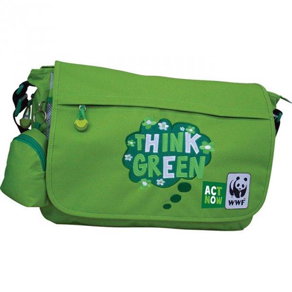 Τσάντα ώμου WWF 04108-green
