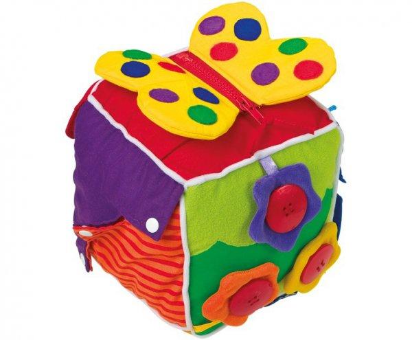 Υφασμάτινος εκπαιδευτικός κύβος Small Foot 5515