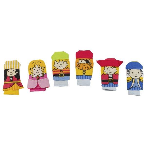 Δακτυλόκουκλες Πειρατές Goki 51652