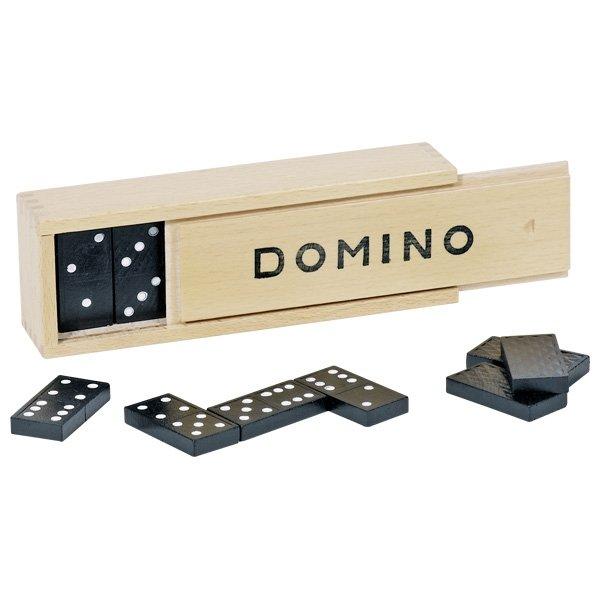 Ντόμινο σε Ξύλινη Θήκη Goki 15335